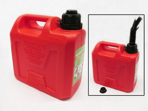 5 Litre Auto Shut Off Jerry Can - 5L Fuel Liquid Diesel Petrol Container Storage Breather Gerry Tank
